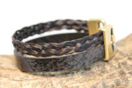 Paardenhaar armband SnakeBraid