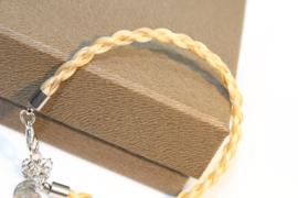 Paardenhaar Armband Roos