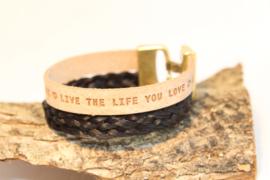 Paardenhaar armband LiveTheBraid