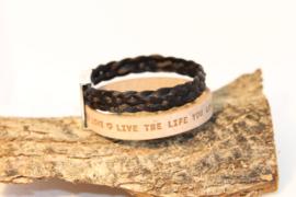 Paardenhaar armband Braidlife