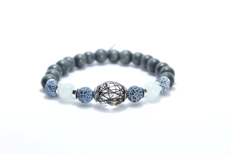 Paardenhaar Armband Silver