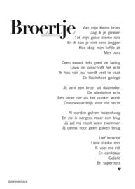 Broertje - A5