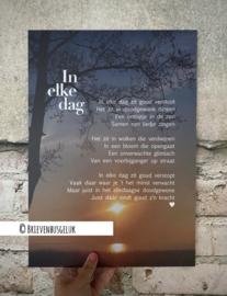 A3-poster 'In elke dag'