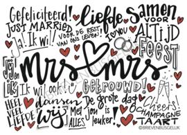 Mrs & Mrs - A6