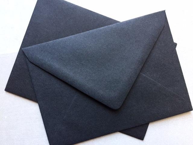 Envelop ZWART