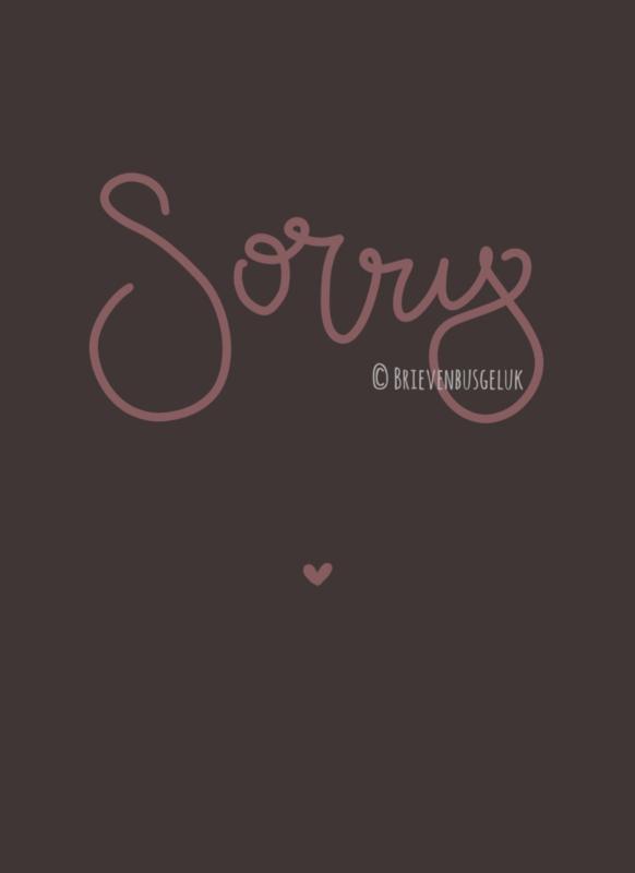 Sorry - mini