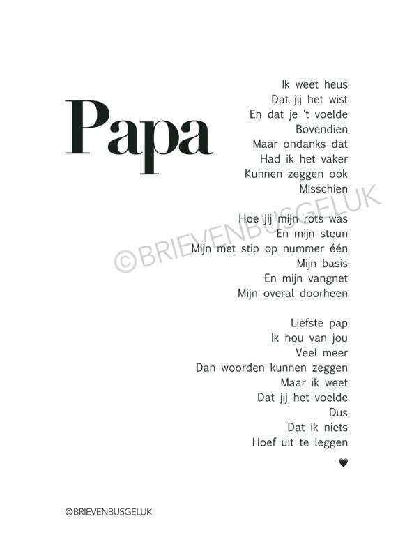 Papa In Memoriam - A5