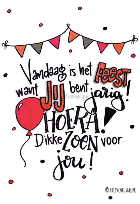 Vandaag is het feest!