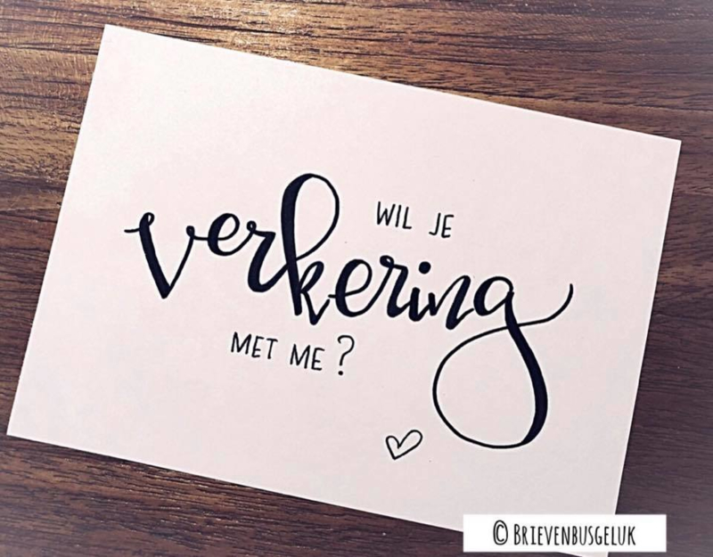 Wil je verkering met me?