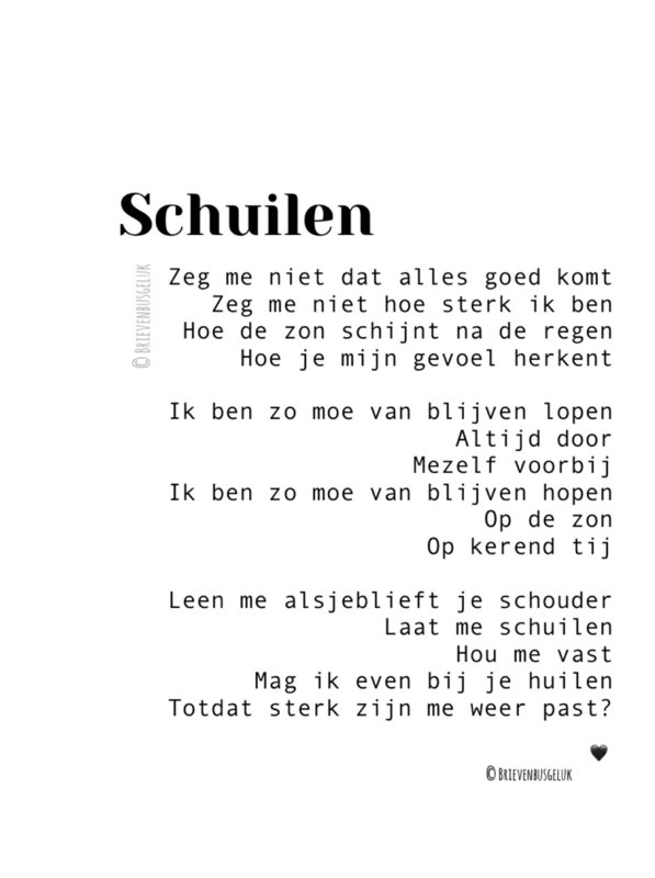 A5 Schuilen