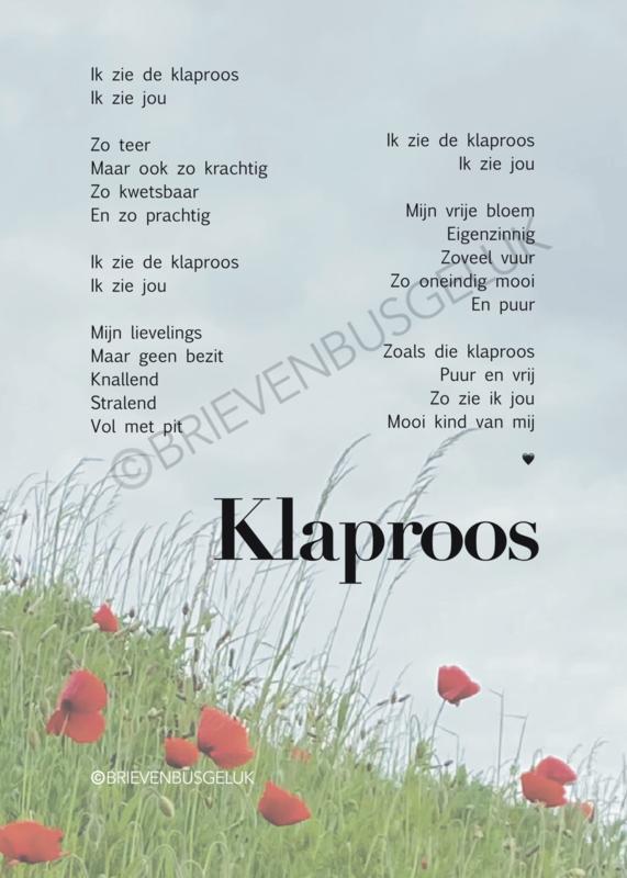Klaproos - A5