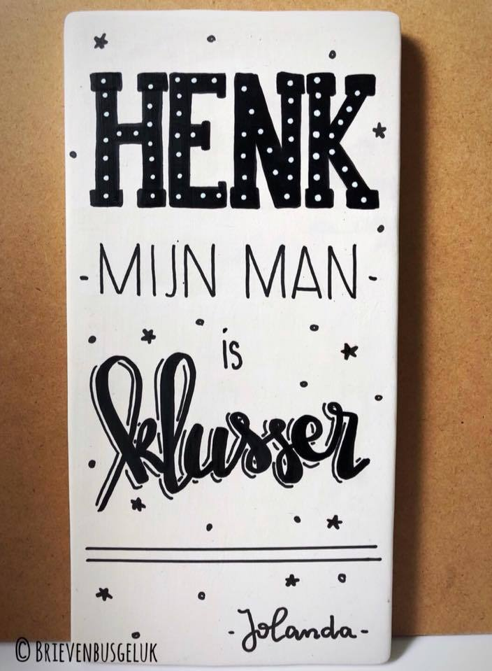 Henk, mijn man, is klusser