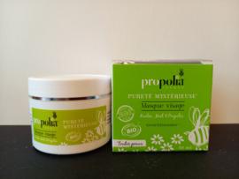Gezichtsmasker, Biologisch product