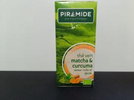 Piramide Groene thee Matcha, kurkuma