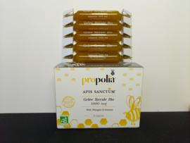 Ampullen met Koninginnegelei & honing