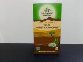 Organic India Tulsi thee, honing, kamille