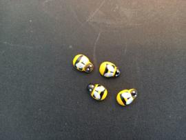 Miniatuur opplak bijtjes