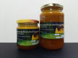 Honing met propolis & stuifmeel