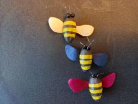 Gekleurde bijtjes