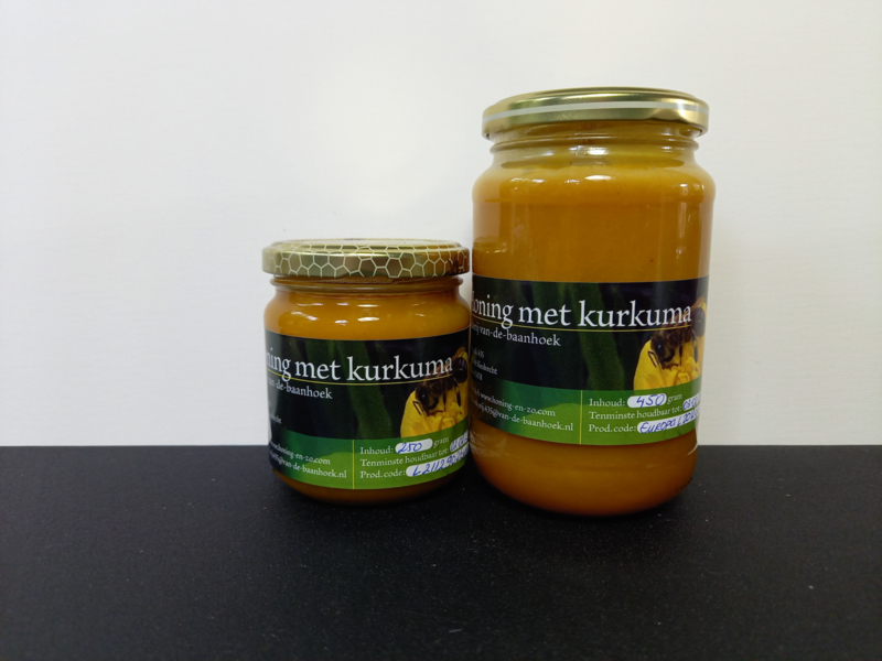 Honing met kurkuma