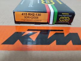 KTM SX 50 / HUSQVARNA TC 50 REGINA KETTING GOLD RH2 415-130 ALLE BOUWJAREN
