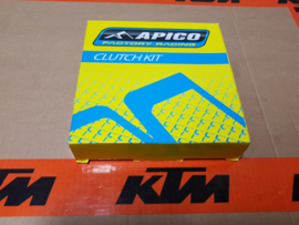 KTM SX 65 / HUSQVARNA TC 65 COMPLETE SET KOPPELINGSPLATEN APICO FACTORY 1998-2020
