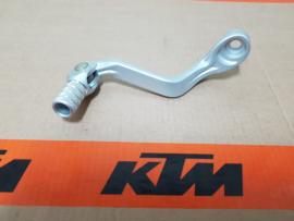 KTM SX 65 / HUSQVARNA TC 65 SCHAKELPEDAAL ZILVER 2009 - 2020 NIEUW