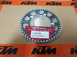 KTM SX 65 MINO / TMV / MOTOMASTER ACHTERTANDWIEL ALUMINIUM 48 TANDS  1998-2020