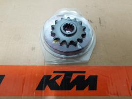 KTM SX 65 / HUSQVARNA TC 65 S-STEEL / TMV /AFAM / MM VOORTANDWIEL 14 TANDS ALLE BOUWJAREN