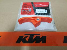 KTM SX 65 ONDERSTE KETTINGGELEIDER  ORANJE ALLE BOUWJAREN