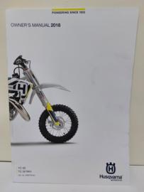 HUSQVARNA TC 50 / TC 50 MINI HANDLEIDING MODELJAAR 2018 ENGELS