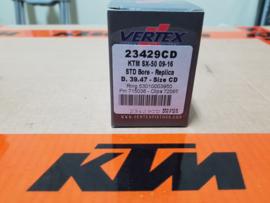 KTM SX 50 / HUSQVANRNA TC 50 / GAS GAS MC 50 VERTEX ZUIGER  CD 39.47  2009 - 2021