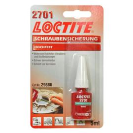 LOCTITE 2701 BORGMIDDEL  5 ML HOGE STERKTE