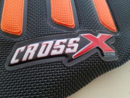 KTM SX 85 CROSS X  UGS ZADELHOES ZWART/ORANJE  2018 - 2021