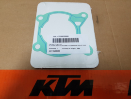 KTM SX 85  / HUSQVARNA TC 85 VOETPAKKING STANDAARD 0,5 MM T/M BJ 2017