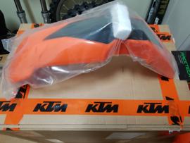 KTM SX 65 ORANJE VOORSPATBORD 2009 - 2011 NIEUW