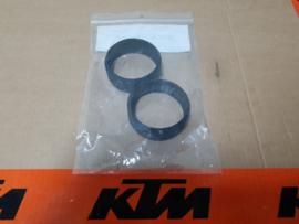 KTM SX 65 / HUSQVARNA TC 65 VOORVORK BESCHERMRINGEN / GELEIDERS