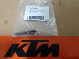KTM SX 85 / HUSQVARNA TC 85  SCHROEF LUCHTFILTERBAK / ACHTERSPATBORD 2013-2017