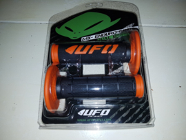 UFO CHALLENGER GRIPS / HANDVATTEN ZWART / ORANJE