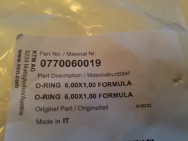 KTM SX 50 / HUSQVARNA TC 50 SET AFDICHTRINGEN REMLEIDING ALLE BOUWJAREN