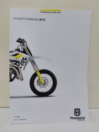 HUSQVARNA TC 65 HANDLEIDING MODELJAAR 2019 ENGELS