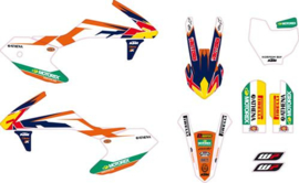 KTM SX 50 COMPLETE ORIGINELE FACTORY STICKERSET 2016 - 2019