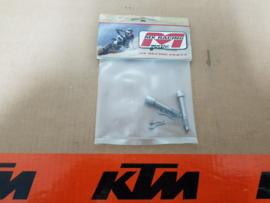 KTM SX 50 / HUSQVARNA TC 50 MINO SET REMBLOK PENNEN ALLE BOUWJAREN MET SCHIJFREM