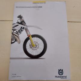 HUSQVARNA TC 85 HANDLEIDING MODELJAAR 2020 NEDERLANDS