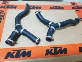 KTM SX 85 / HUSQVARNA TC 85 COMPLETE SET KOELSLANGEN 2013-2017 GEBRUIKT