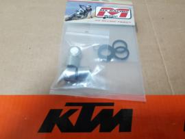 KTM SX 65 / HUSQVARNA TC 65 MINO RVS  REMZUIGER REPARATIE SET ACHTERREM 2009-2021