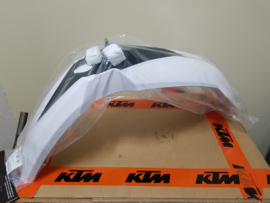 KTM SX 85 VOORSPATBORD WIT 2013-2017 NIEUW