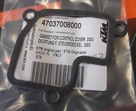 KTM SX 85 PAKKING POWERVALVE DEKSEL 2003 - 2012