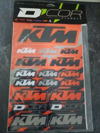 KTM STICKER KIT D`COR VISUALS
