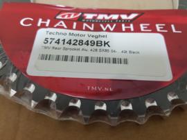 KTM SX 85 / HUSQVARNA TC 85 MINO / TMV ACHTERTANDWIEL ALU 49 TANDS 2004 - 2020